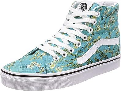habla Químico Solicitante  Amazon.com | Vans Classic Slip ON Vincent Gogh Almond Blossom Amsterdam  Museum (3.5 Mens / 5 Womens) | Fashion Sneakers
