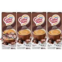 Nestle Coffee mate Coffee Creamer, Cafe Mocha, Liquid Creamer Singles, Box of 50 Singles (Pack of 4)