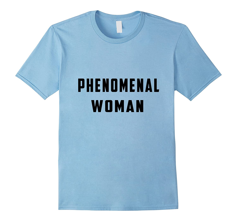 Phenomenal Woman T Shirt-Art