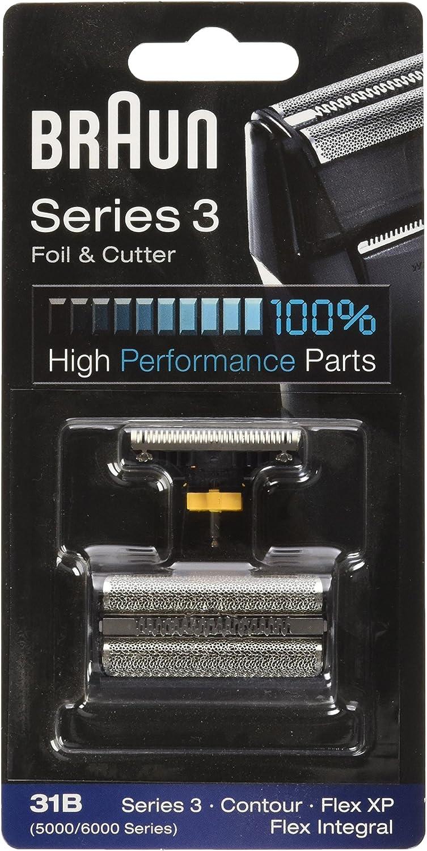 Braun - Combi-pack 10B - Láminas de recambio + portacuchillas para ...