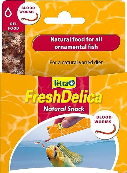 Tetra FreshDelica - Gusanos de Sangre, alimento Natural para Todos ...