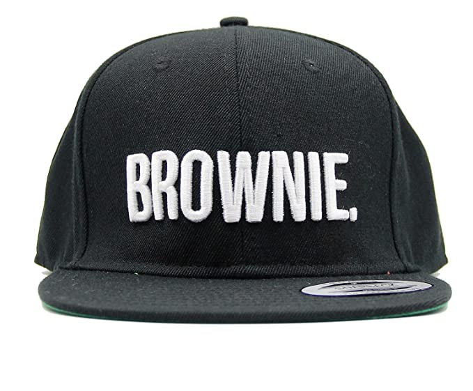 5267c5545 Brownie Snapback Fashion Embroidered Snapback Caps Hip-Hop Hats