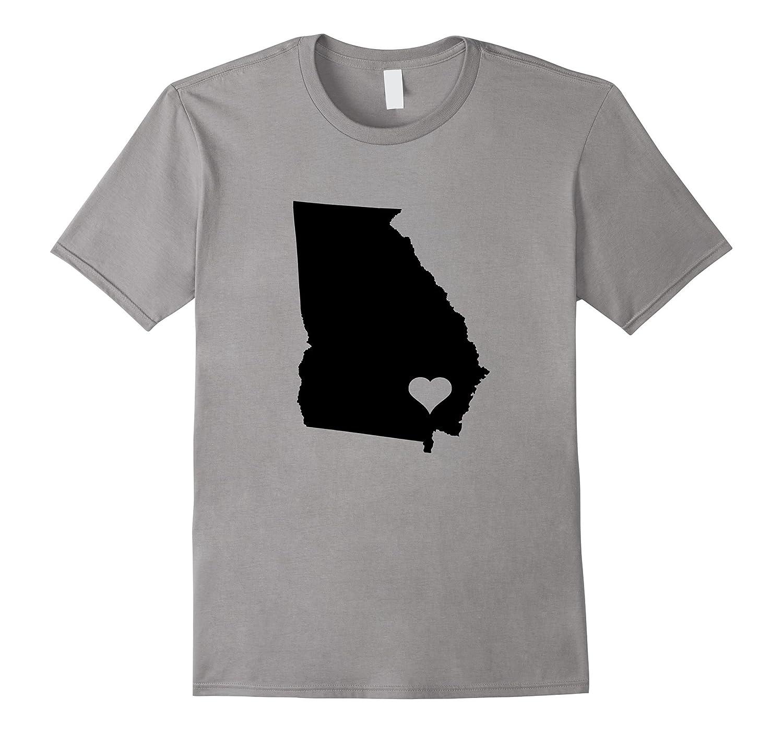 Georgia T-Shirt Georgia Love Home State Shirt-FL
