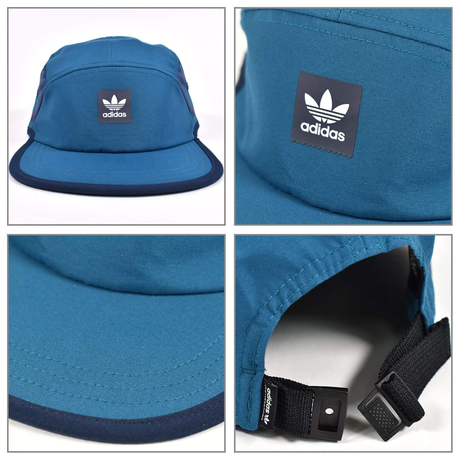 7d64690e61a ADIDAS Damen Court 5 Panel Kappe OSFW DH2583 Real Teal