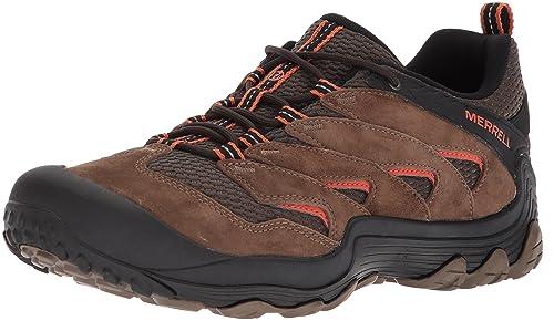 Mens Cham 7 Limit WTPF Low Rise Hiking Boots Merrell ieZibk4N5