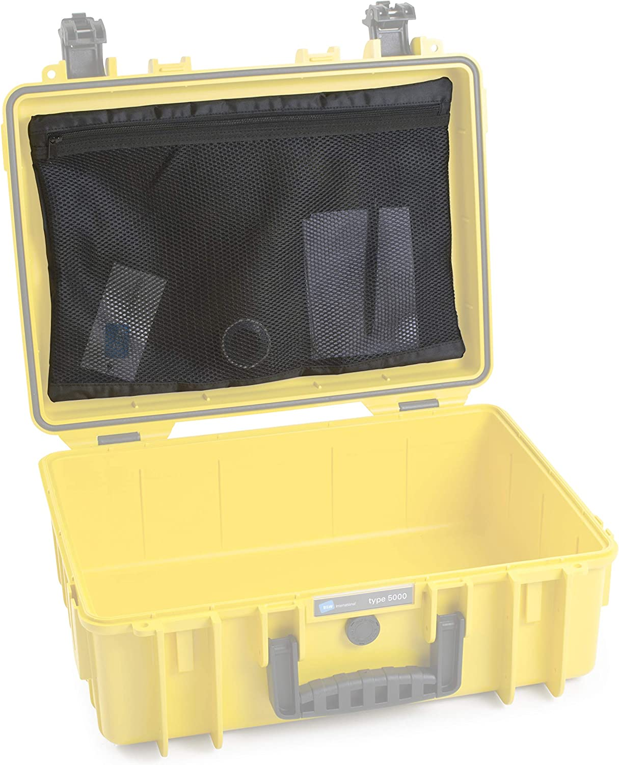B&W Outdoor.Cases mesh Bag (MB) for Outdoor.case Type 5000, 5500 - The Original