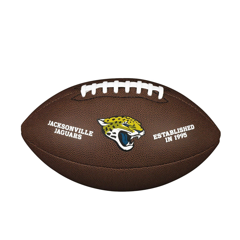 Jacksonville Jaguars NFL Composite Wilson Logo Football WTF1748JACK
