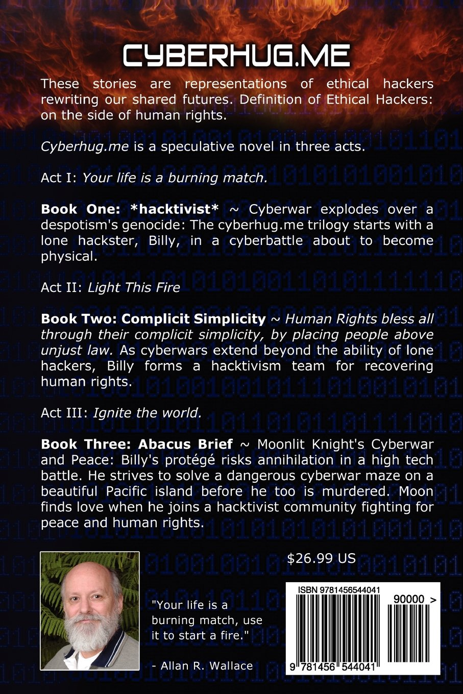 cyberhug.me · Hacktivism, Speculative Fiction Stories, Collection of Books 3, 4, 5