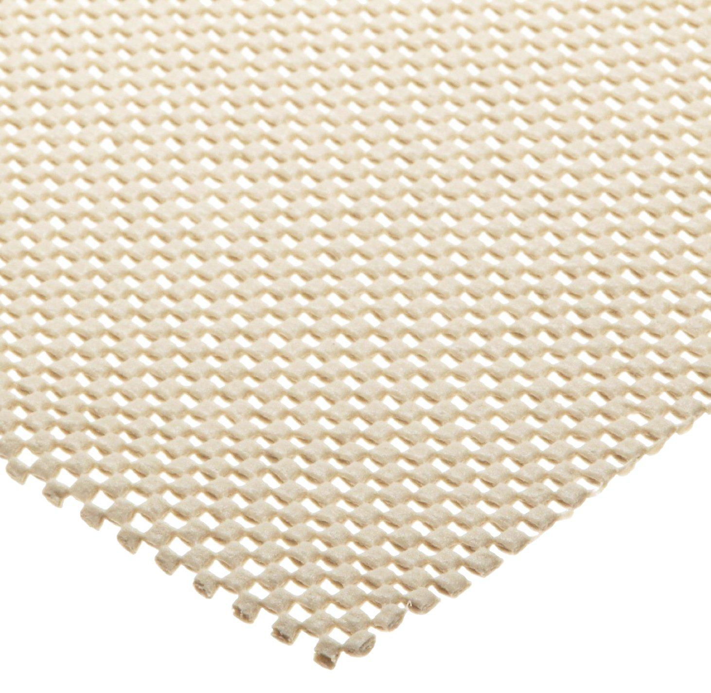 Tenura 75378-0002 Beige Fabric Non-Slip Netting, 6' Length x 20