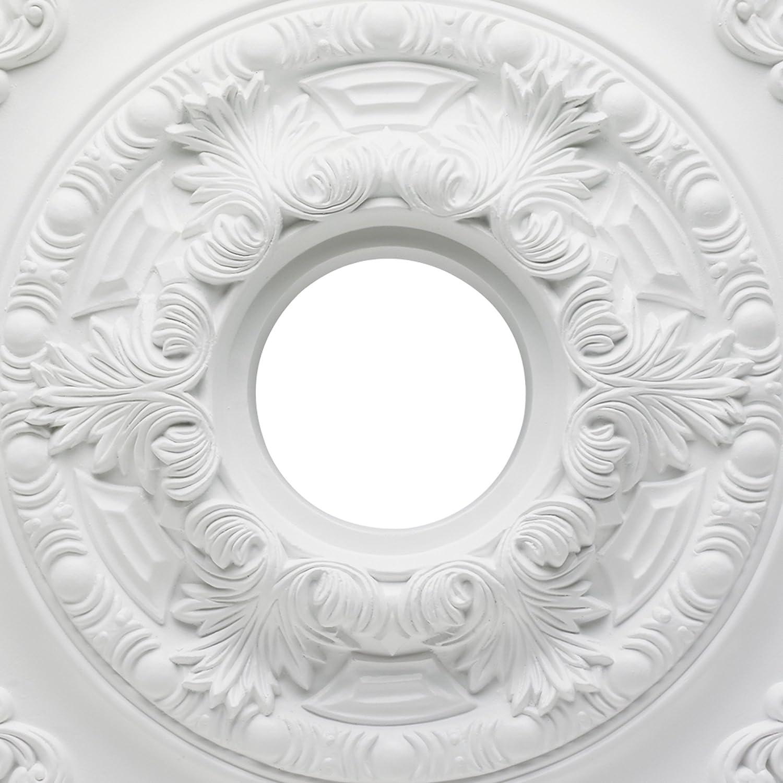 Westinghouse Lighting 7775700 Sofia Polyurethane Ceiling Medallion 21-Inch Diameter