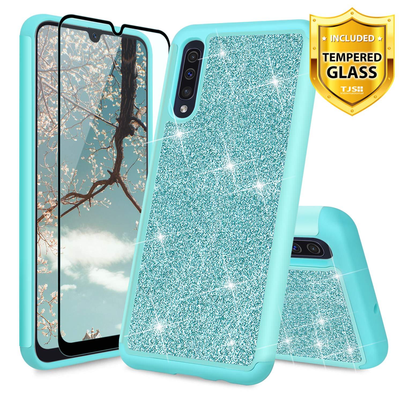 Funda + Vidrio Para Samsung Galaxy A50 Glitter Tjs [7tsbcx8y]