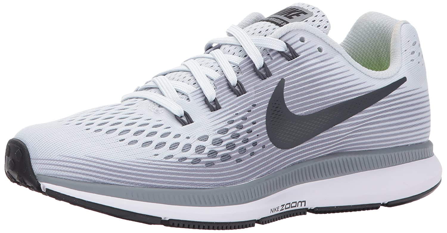 NIKE Women's Air Zoom Pegasus 34 Running Shoe B01N052UV0 7 B(M) US|Pure Platinum/Cool Grey/Black/Anthracite