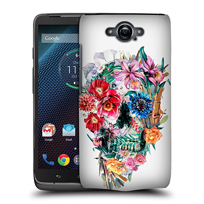 Official Riza Peker Momento Mori VI Skulls Hard Back Case for Motorola DROID Turbo