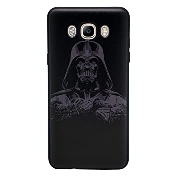 I-CHOOSE LIMITED 3D Star Wars Funda/Carcasa del Teléfono para Samsung Galaxy J5 2016 Gel/TPU / Darth Vader