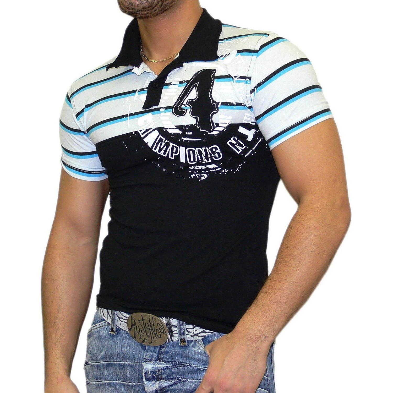 Rusty Neal Slim Fit Polo Style – Camiseta para hombre Polo Manga ...