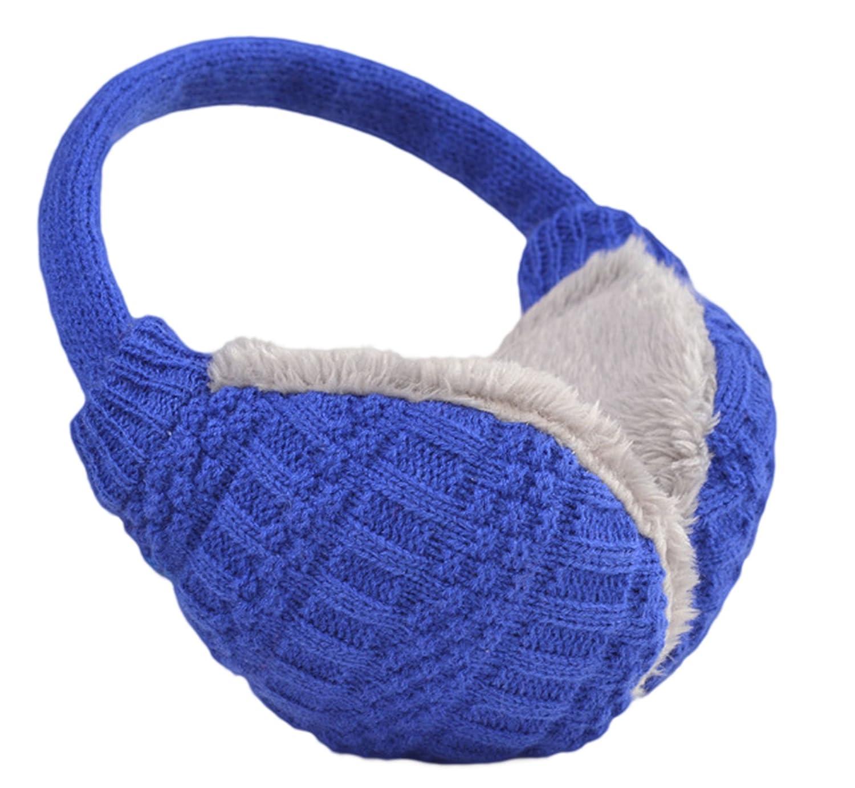 Knolee Unisex Knit EarMuffs Faux Furry Earwarmer Winter Outdoor EarMuffs