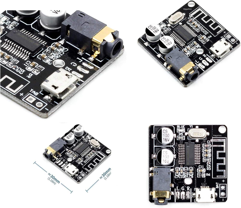 Receptor de audio Bluetooth estéreo de sonido inalámbrico receptor - amplificador digital de potencia módulo Bluetooth 5.0 Circuito