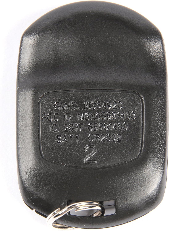 ACDelco 10335583 GM Original Equipment 3 Button Keyless Entry Remote Key Fob
