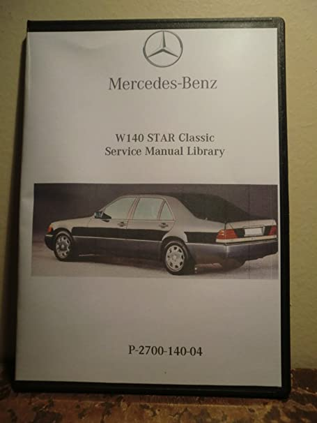 Amazon Com 1997 Mercedes Benz S320 S420 S500 S600 W140 Factory Service Repair Work Shop Manual