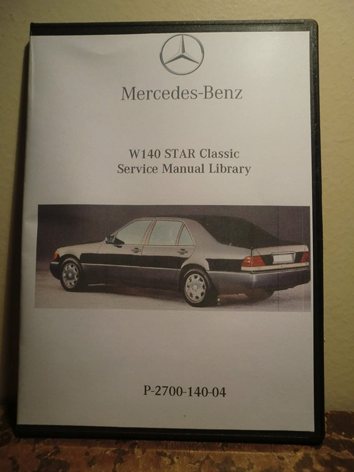 Amazon.com: 1997 1998 1999 Mercedes Benz CL500 CL600 S500 S600 Coupe  Factory Service Repair & Work Shop Manual