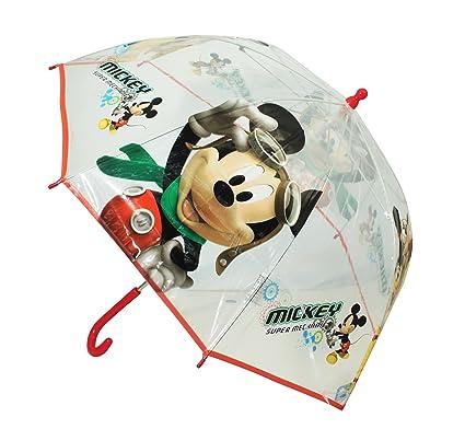 Disney Mickey Mouse Paraguas con Super mecánico y Plutón 45cm ...