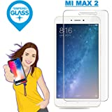 iONiQ MI MAX 2 Premium Tempered Glass Screen Protector Guard With Free Installation Kit