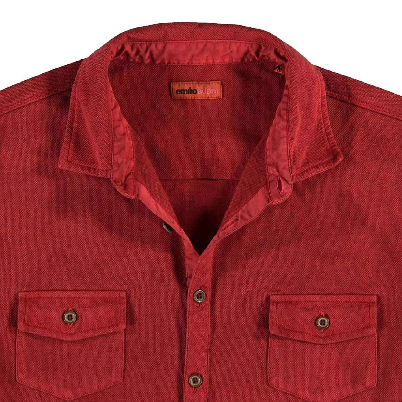 emilio adani Herren Poloshirt, 23385, Rot in Größe M: emilio adani:  Amazon.de: Bekleidung
