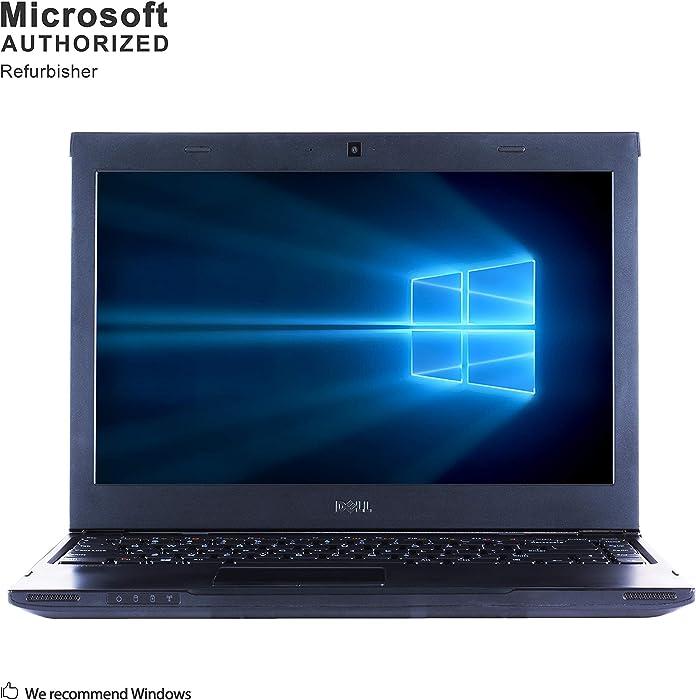 Dell Latitude 3330 13.3 Inch Business Laptop, Intel Core i3 2375M 1.5GHz, 8G DDR3L, 500G, WiFi, VGA, HDMI, Windows 10 64 Bit Multi-Language Supports English/French/Spanish(Renewed)