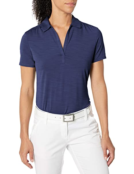Callaway Womens Golf Short Sleeve Tonal Stripe Polo Shirt ...