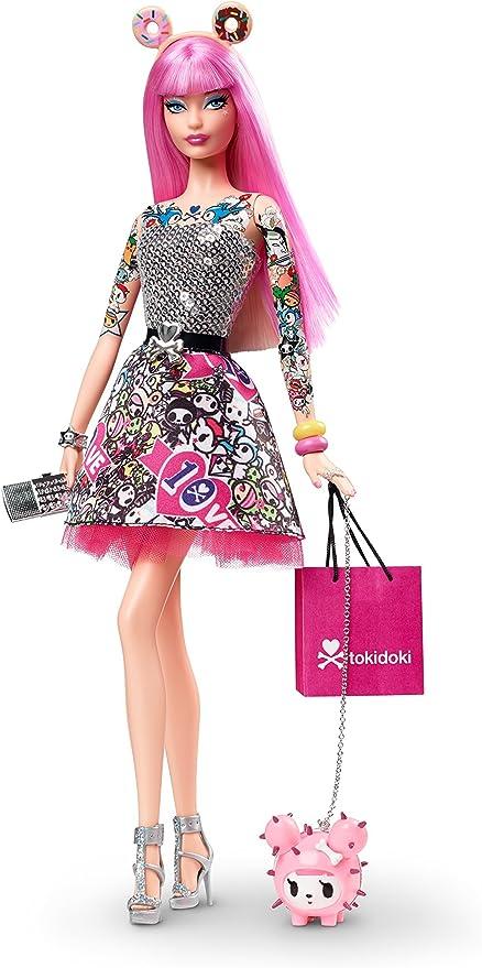 "Tokidoki x Barbie 1971 Malibu Barbie 10th Anniversary Blind Box 4/"" Vinyl Figure"