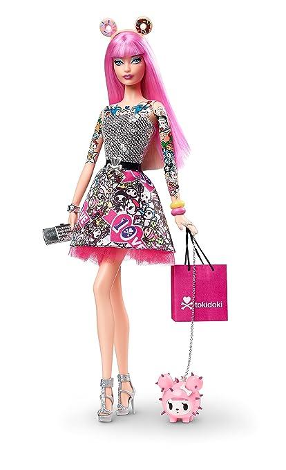 0e849c132 Amazon.com: Barbie 10th Anniversary Tokidoki: Toys & Games