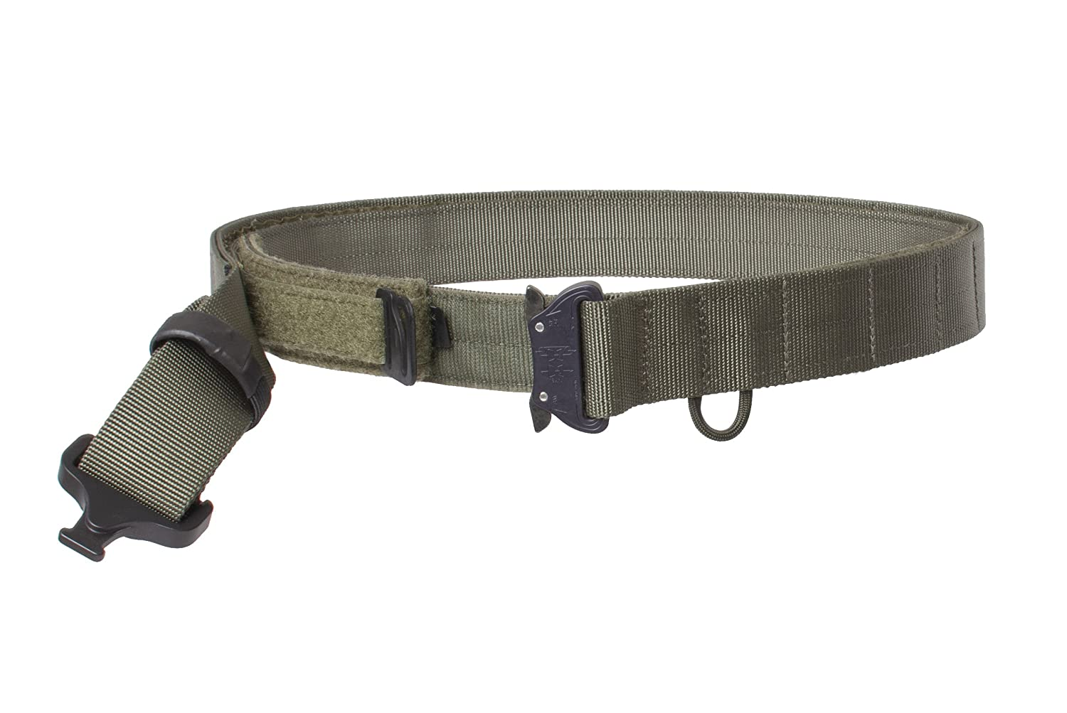 G-CODE OPERATORS BELT 1.75 100/% Made in the USA OD Green-with Cobra Buckle