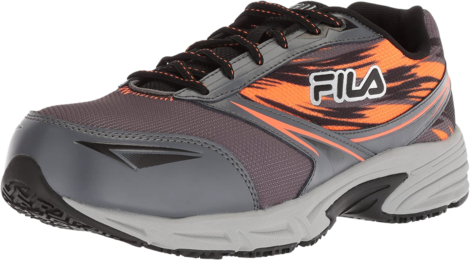 Fila Men s Memory Meiera 2 Slip Resistant and Composite Toe Work Shoe
