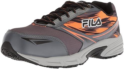 finest selection ce6d3 f0927 Fila Men s Memory Meiera 2 Slip Resistant Composite Toe Trail Running Shoe  Food Service, Castlerock