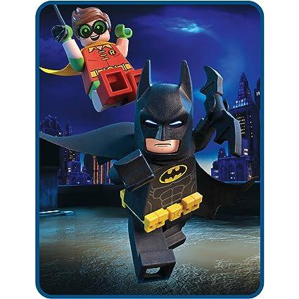 1449108f10 Amazon.com  LEGO Batman Movie Kids Plush Throw Blanket  Home   Kitchen