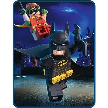 Amazon.com: LEGO Batman Movie Kids Plush Throw Blanket: Home & Kitchen