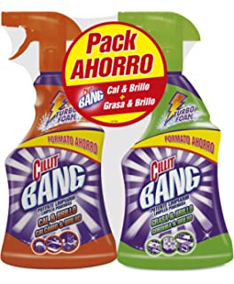 Cillit Bang Potente Limpiador Spray Grasa & Brillo 1L (33 ...