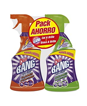 PACK Cillit Bang Potente Limpiador Spray Grasa & Brillo 750 ml + Cillit Bang Potente Limpiador