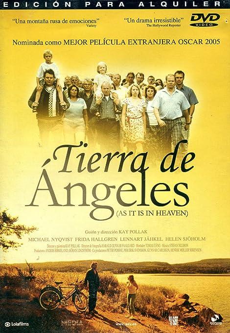 Tierra De Angeles (Ind) [DVD]: Amazon.es: Michael Nyqvist, Helen ...