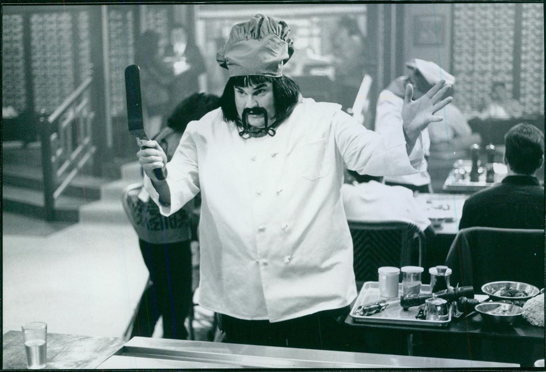 Vintage photo de 1997 a escena de un comediante ...