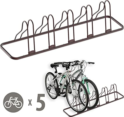 Adjustable Bike Carrier Rack Upright Bike Storage Stand Vertical Floor for Biker