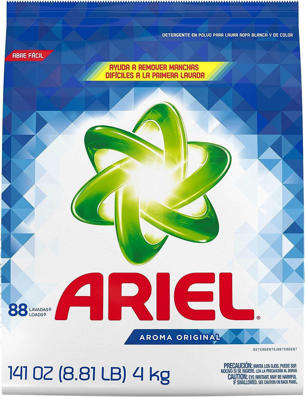Original Scent Laundry Detergent Powder, 141 oz Model# 3700094600 by Ariel (1)