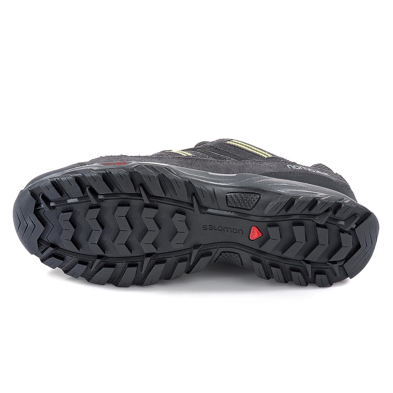 a1d13b8ccc9 Salomon - Zapatillas de Senderismo de Piel para Hombre  Salomon  Amazon.es   Zapatos y complementos