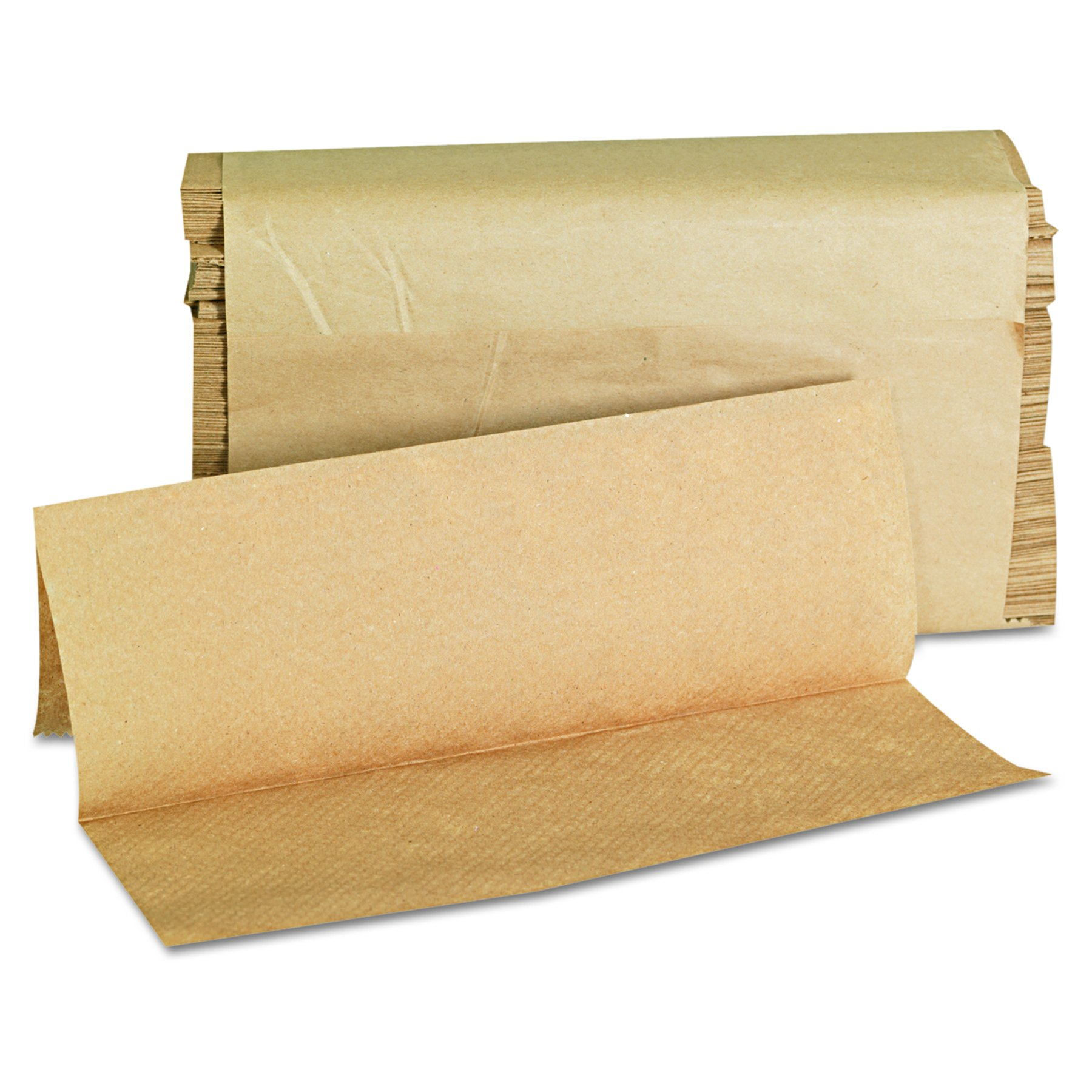 GEN 1508 Folded Paper Towels, Multifold, 9 x 9 9/20, Natural, 250 Towels per Pack (Case of 16 Packs)