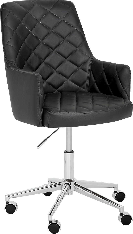 Sunpan Modern Chase Office Chair, Onyx