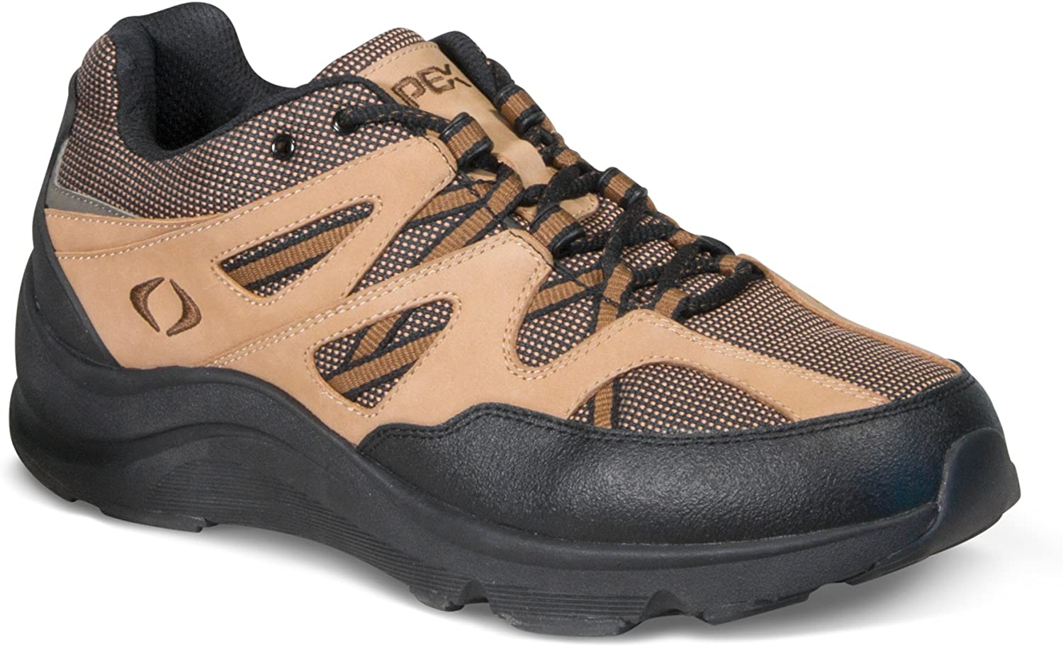 Apex Men s Sierra Trail Runner Brown Hiking Shoe