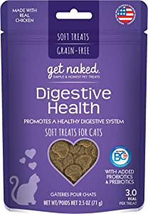 Get Naked Furball Relief Soft Treats for Cats, 2.5 oz
