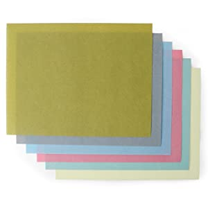 StewMac 3M Flexible Polishing Papers, Set of 6 Grits (400-8000 Grits)