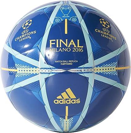adidas Finale Milano Capitano Balón, Hombre, EQT Blue s16/shock ...