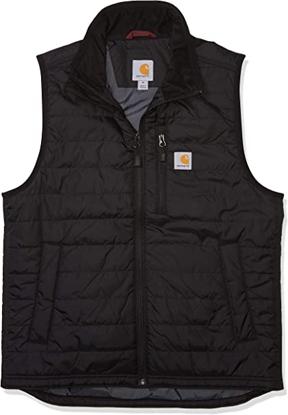 TALLA M EU. Carhartt Mens Gilliam Nylon Polyester Insulated Vest Gilet Bodywarmer